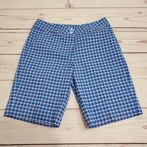 Nike Shorts - Women's Nike Golf Plaid Shorts Size 6